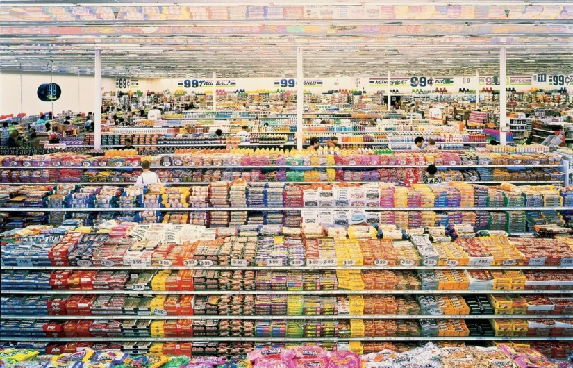 THE LOST (OR NEWLY FOUND) ART OF GROCERY SHOPPING