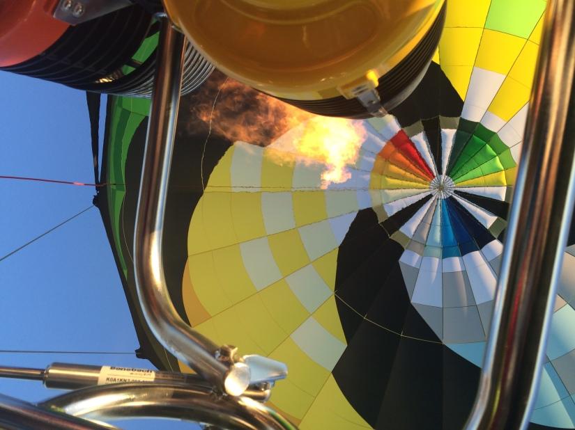 HOT AIR BALLOONING ON THE EDGE, PART II: THEFLIGHT