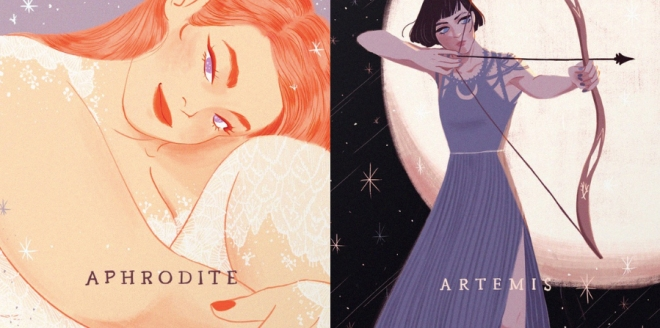 DATING.aphrodite.artemis