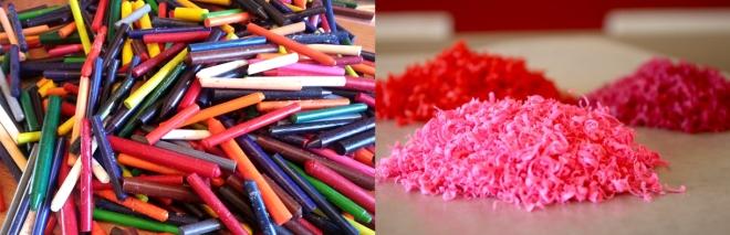 HEALING.crayon.diptych