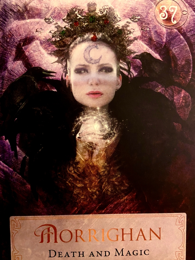 death and magic morrighan