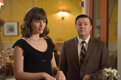 First date scene from The Invention of Lying, 2009, with Ricky Gervais and Jennifer Garner.