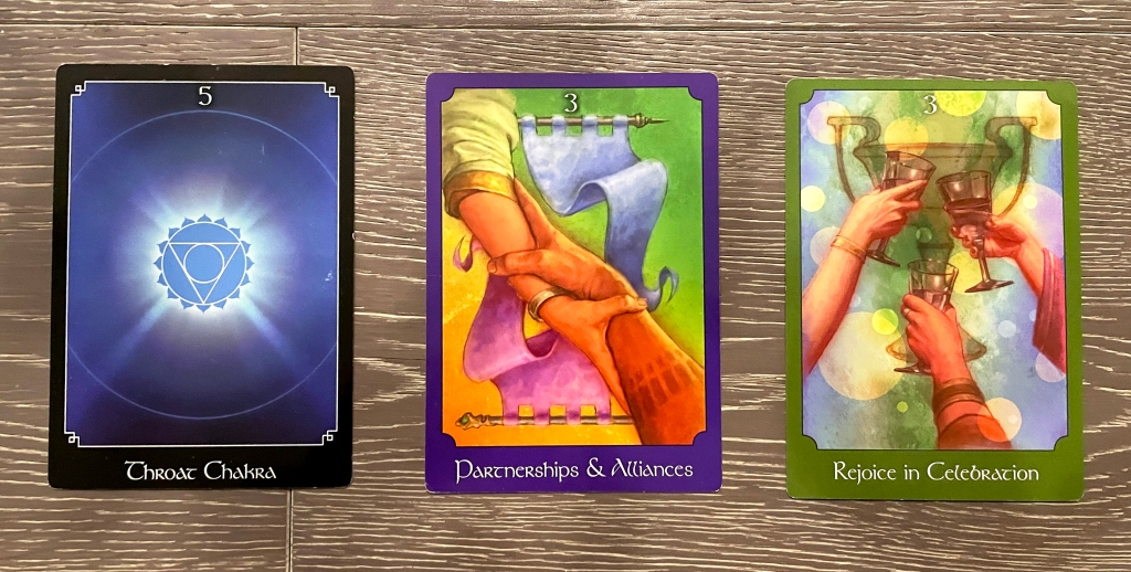 John Holland Psychic Oracle deck cards.